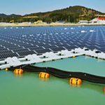 فاز نخست نیروگاه خورشیدی شناور در جنوب تهران راهاندازی شد