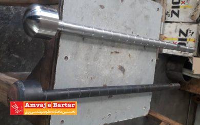 ساخت سوپاپهای کنترل والو شماره ۵ واحد اشکودا نیروگاه مشهد