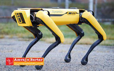 سگ رباتیک با گشت زنی خرابی دکلهای برق را گزارش میدهد